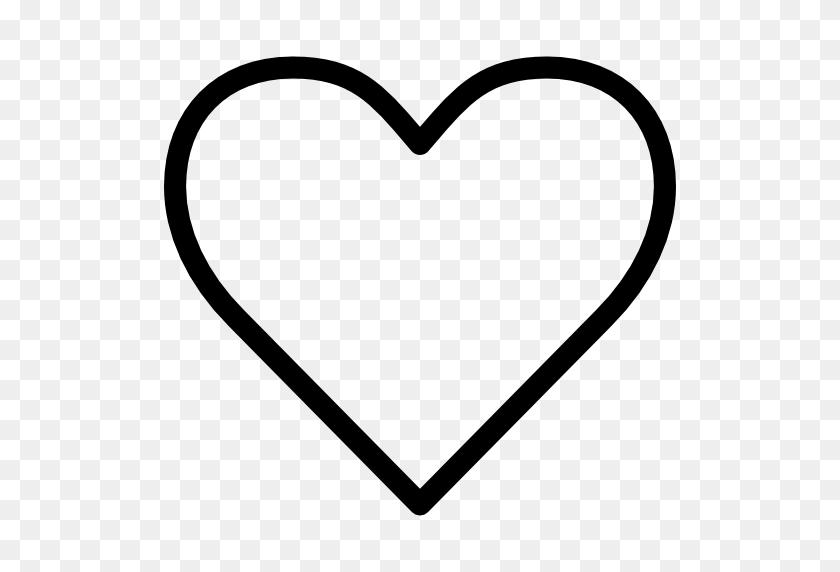 Heart Silhouette Icon - Heart Silhouette Clip Art