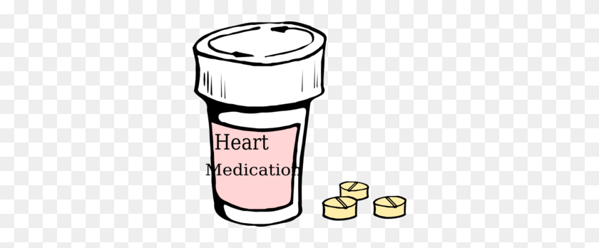300x288 Heart Tablet Cliparts - Tablet Clipart