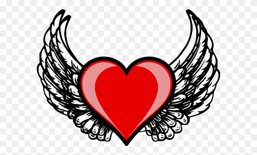 Heart Wing Logo Clip Art - X Wing Clipart
