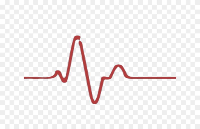 Hearts Clipart Heartbeat - Heartbeat Line Clipart