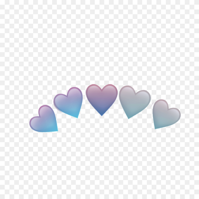 Hearts Heart Crowns Crown Heartcrown Tumblr - Heart Crown PNG