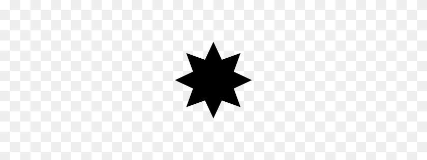 Heavy Eight Pointed Rectilinear Black Star Unicode Character U - Black Stars PNG