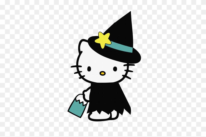 Hello Kitty Halloween Digital Download Meylah Anna Kate - Halloween Birthday Clipart