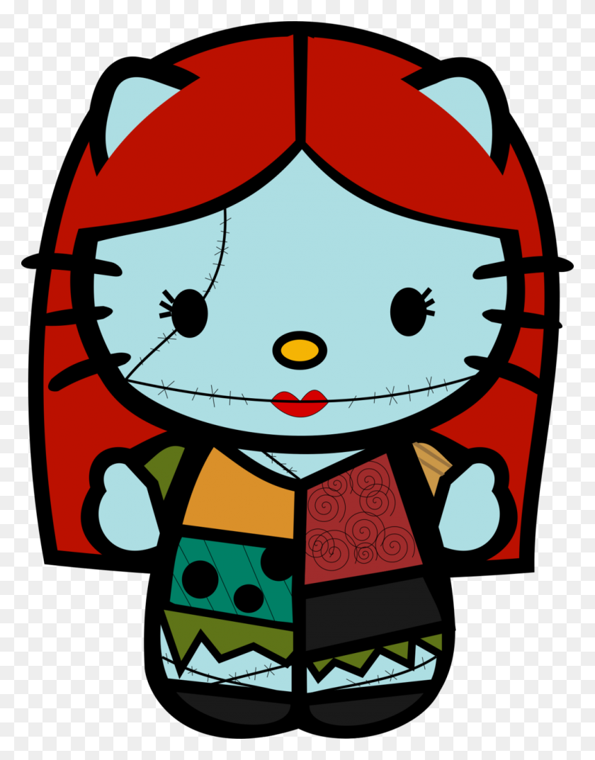 Hello Kitty Hello Kitty Hello Kitty, Kitty - Sally Nightmare Before Christmas Clipart
