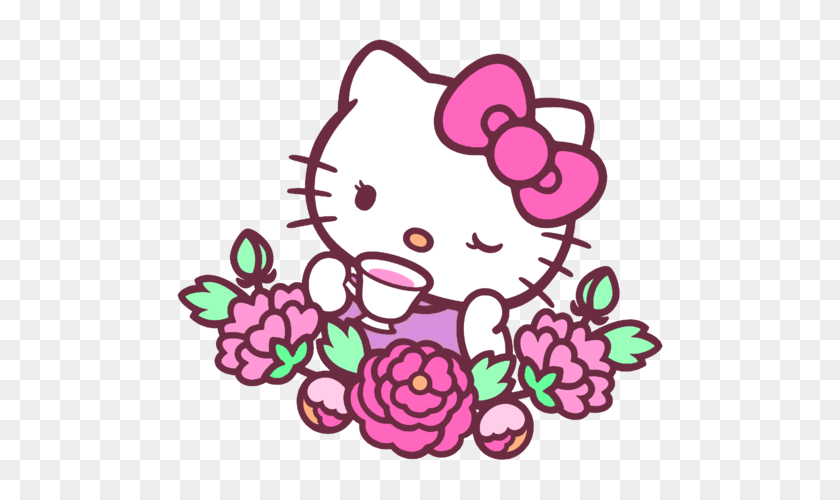 Hello Kitty Stickers Book Hello Kitty And Kitty - Hello Kitty Bow Clipart