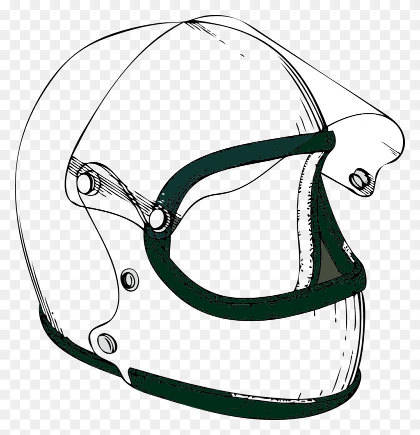 Helmet Cliparts - Football Helmet Clipart Black And White