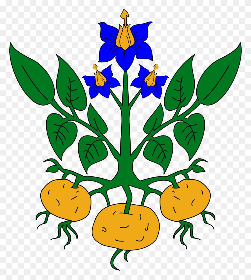 Heraldic Tree Clipart - Cedar Tree Clipart