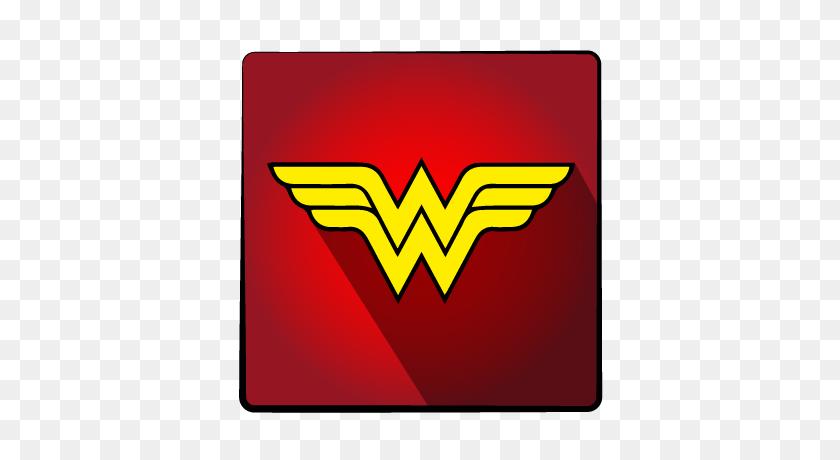 Hero, Super, Wonderwoman Icon - Wonder Woman Logo Clipart