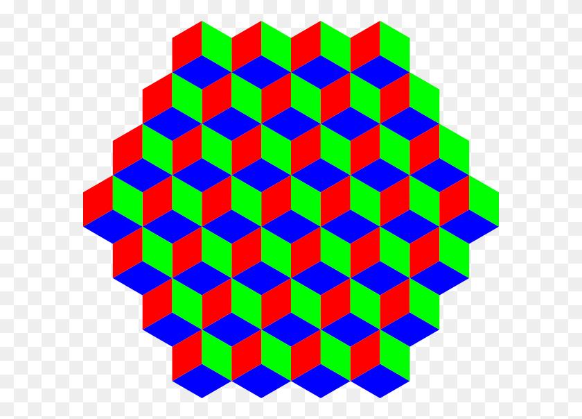 Hexagon Clip Art - 3d Clipart