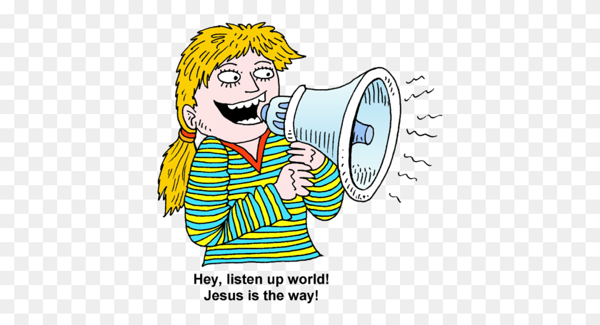 Hey, Listen Up World! Jesus Is The Way! Operation Christmas - Operation Christmas Child Clip Art
