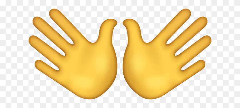 Hi Emoji Or Hand Wave Emoji Emoji's Life - Wave Emoji PNG