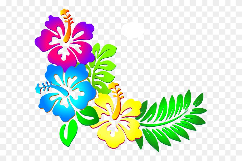 Hibiscus Clip Art Vector Free - Moana Flower Clipart