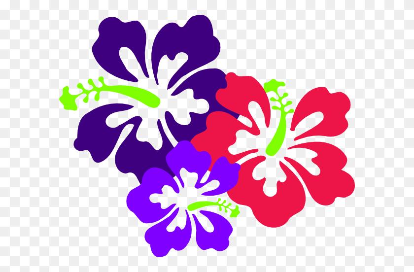 Hibiscus Clipart Tiki - Tiki Clipart