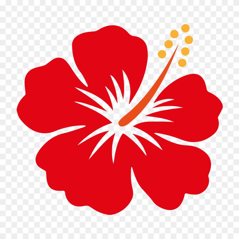 Hibiscus Vector - Moana Flower Clipart