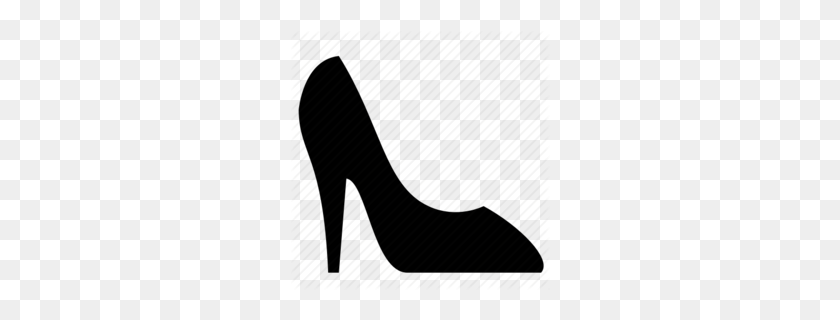 High Heel Pumps And Shoes Clipart - High Heel Shoe Clipart