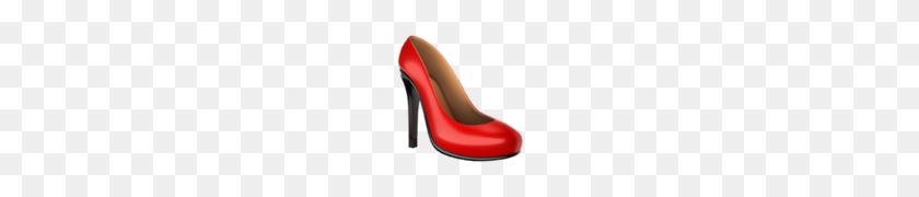 High Heeled Shoe Emoji - Ruby Slippers PNG