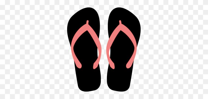 297x340 High Heeled Shoe Slipper Boot Clothing - Flip Flop Clip Art Free