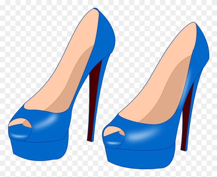 High Heeled Shoe Stiletto Heel Drawing Court Shoe - High Heel Shoe Clipart