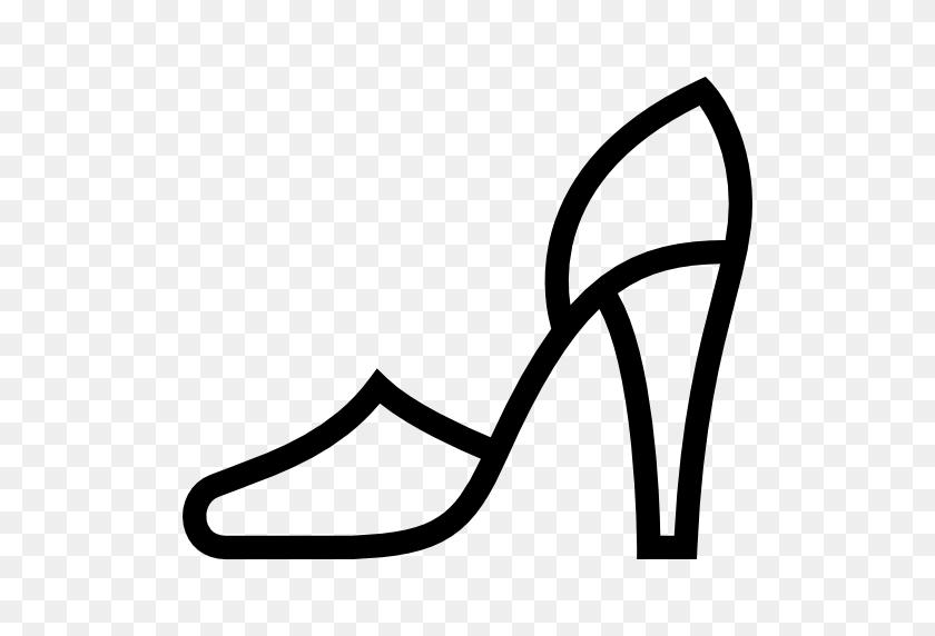 High Heels, Women, Fashion, Female, Stiletto, Shoe, Footwear Icon - Stiletto Heels Clipart