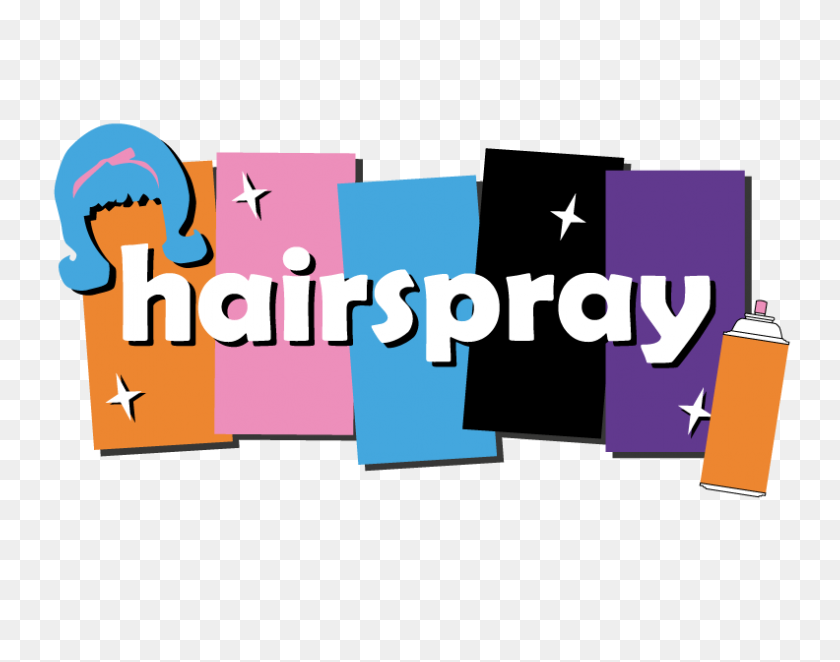 High School Musical Hairspray Mot Charter - Hairspray Clipart