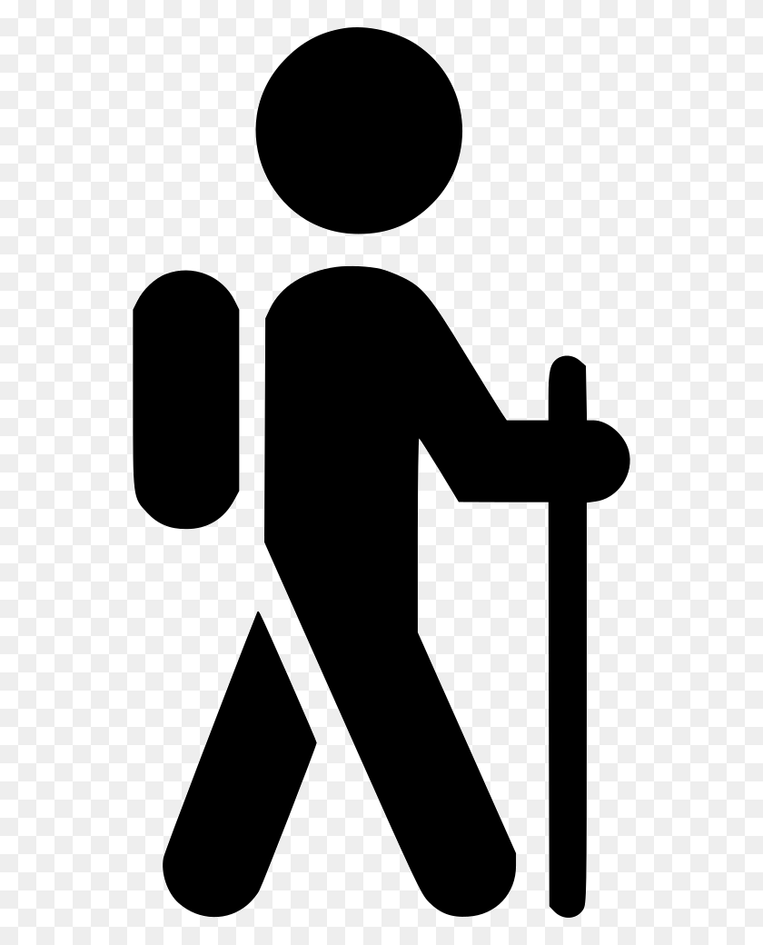 Hiker With Backpack Png Icon Free Download - Hiker PNG