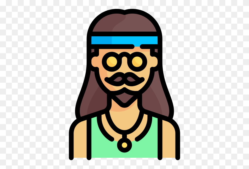 Hippie Hippie Png Icon - Hippie PNG