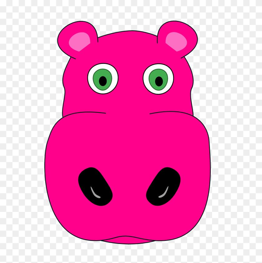 Hippo Clipart Kid - Baby Hippo Clipart