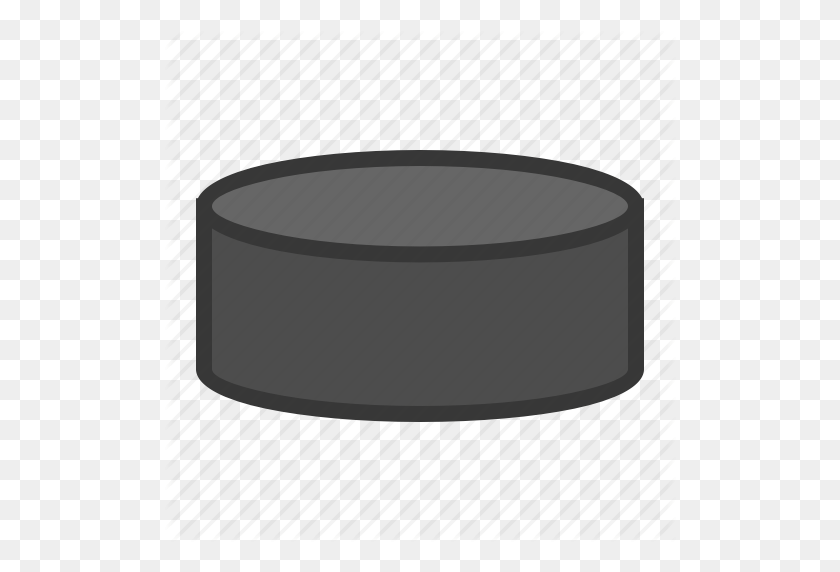 Hockey Puck, Sport, Sports, Sports Equipment Icon - Hockey Puck PNG