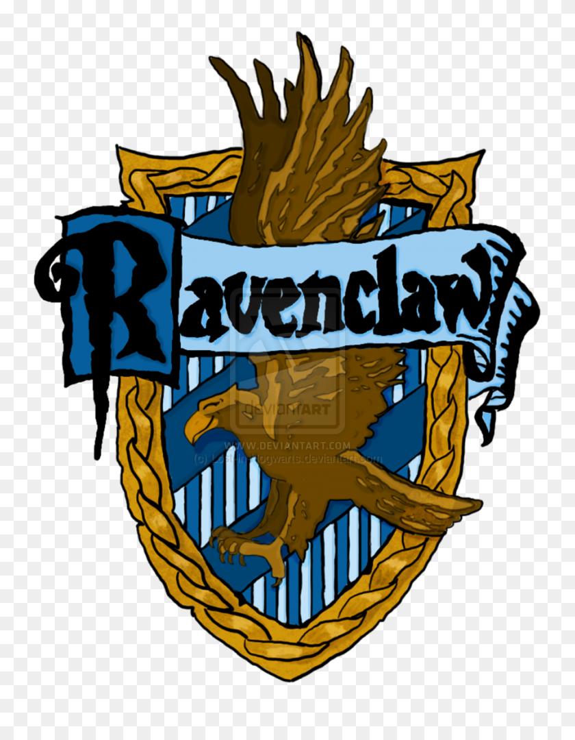 Hogwarts House Crests Printable - Ravenclaw Crest PNG