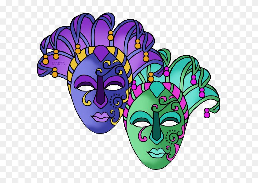 Holiday Clip Art - Mardi Gras Clip Art