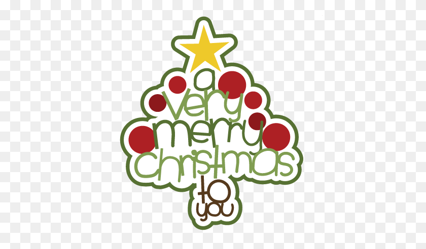 432x432 Holiday Clip Art - Merry Christmas And Happy New Year Clipart