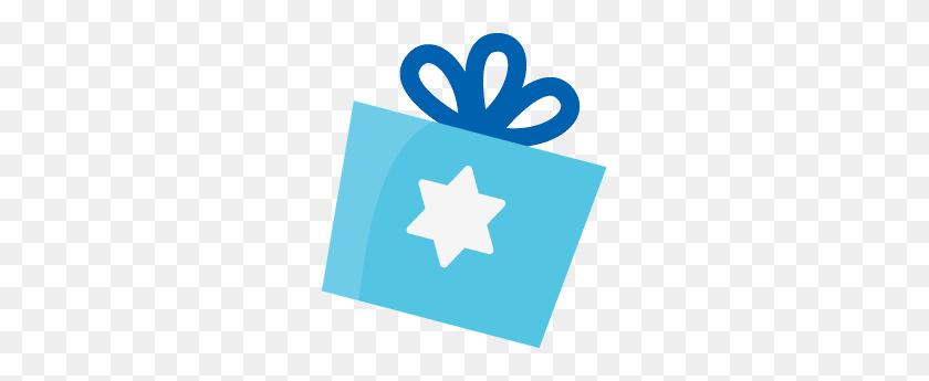 Holiday Menorah Gift Clip Art Clip Art - Menorah Clipart