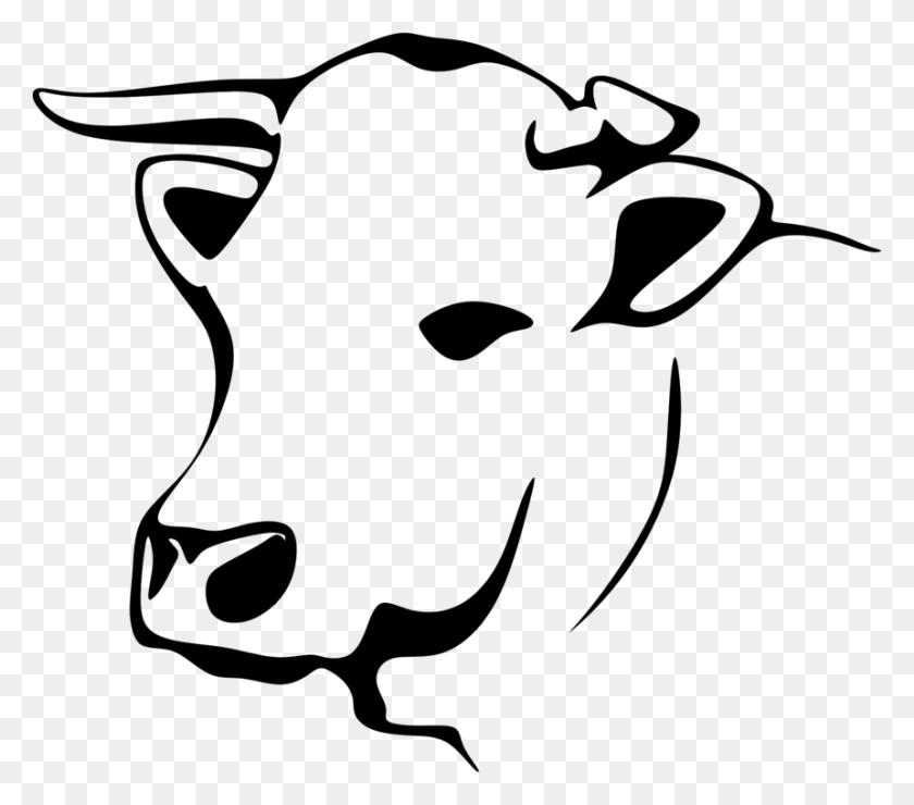 Holstein Friesian Cattle Jersey Cattle Line Art Dairy Cattle Free - Show Cattle Clip Art