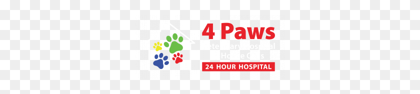 300x128 Home Paws Hour Veterinary Hospital And House Calls - Paws PNG