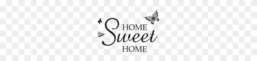 Home Sweet Home Clip Art Home Sweet Home Clip Art Home Sweet Home - Free Butterfly Clipart Black And White