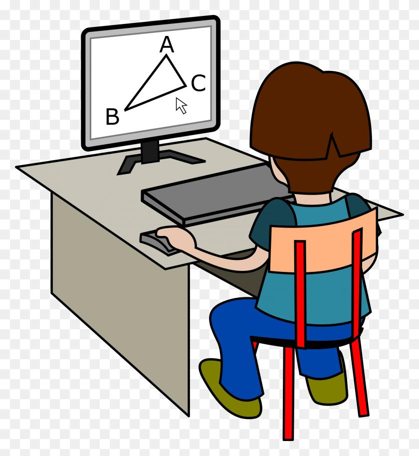Homework Clipart Computer - Computer Clip Art Free