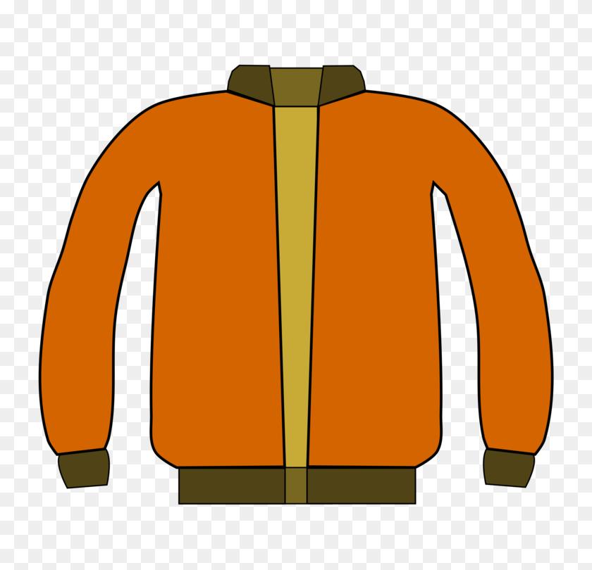 Hoodie Jacket Coat Winter Clothing - Winter Coat Clip Art