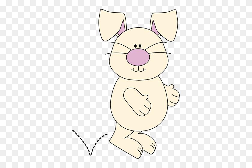 Hopping Bunny Clipart - Playboy Bunny Clipart