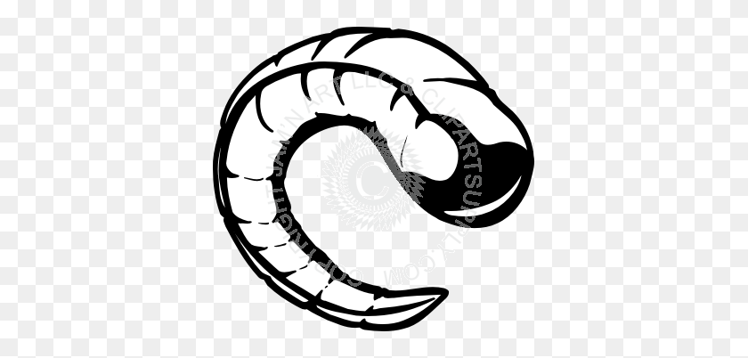 Horns Clipart Ram Horn - Ram Horns Clipart