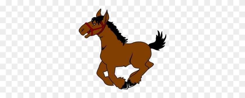 300x279 Horse Clip Art - Free Cowboy Clipart