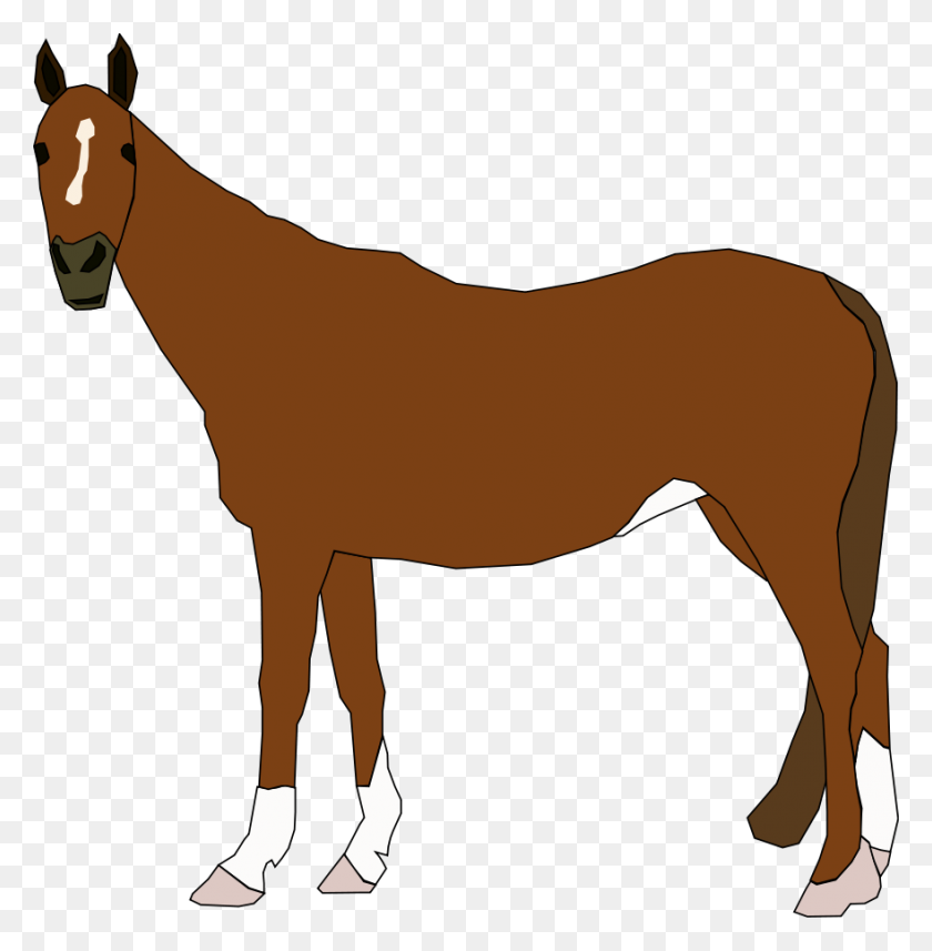 Horse Clip Arts Download - Mustang Horse PNG
