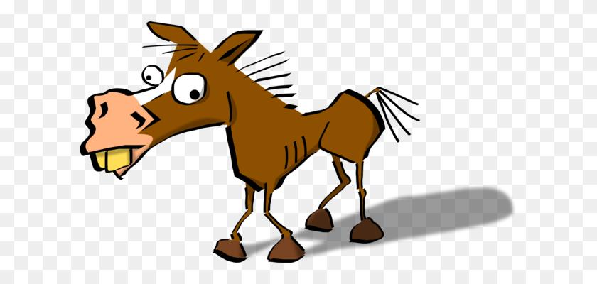 Horse Pegasus Pony Donkey Cartoon - Pegasus Clipart