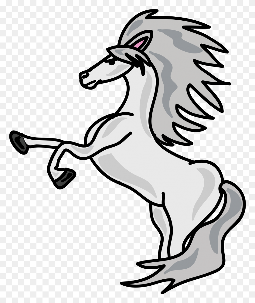 Horse White Icons Png - White Horse PNG