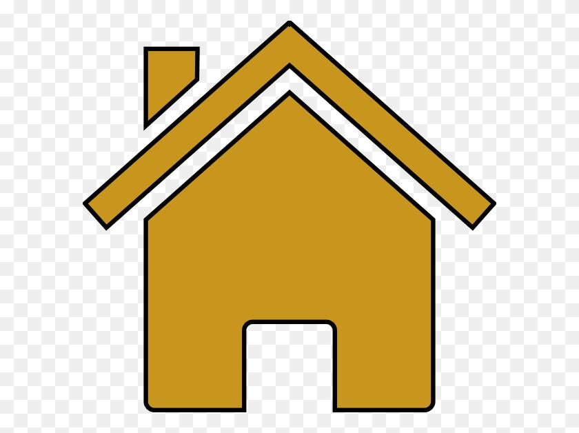 Hosue Clipart House Outline - Pencil Outline Clipart