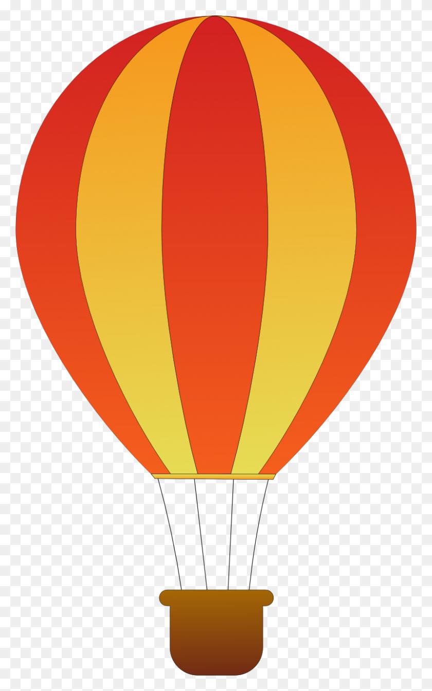 800x1317 Hot Air Balloon Clip Art - Up Balloons Clipart