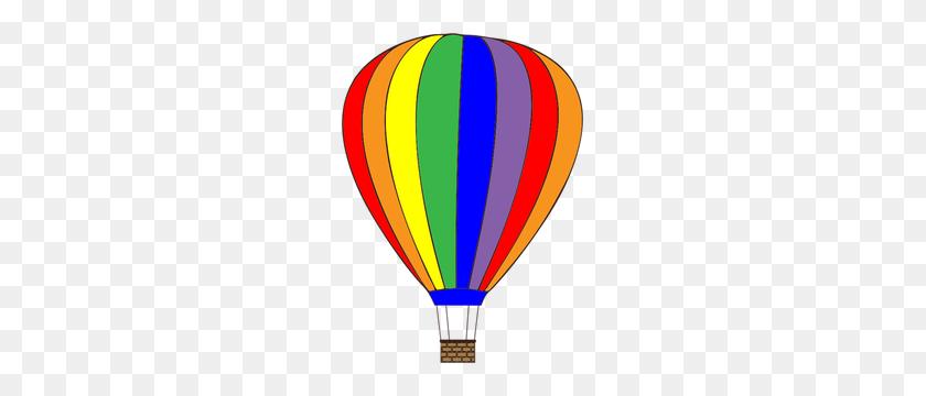 Hot Air Balloon Clipart - Hot Air Balloon Basket Clipart