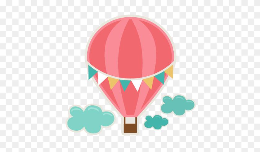 432x432 Hot Air Balloon Cutting For Scrapbooks Free - Wedding Shower Clip Art Free