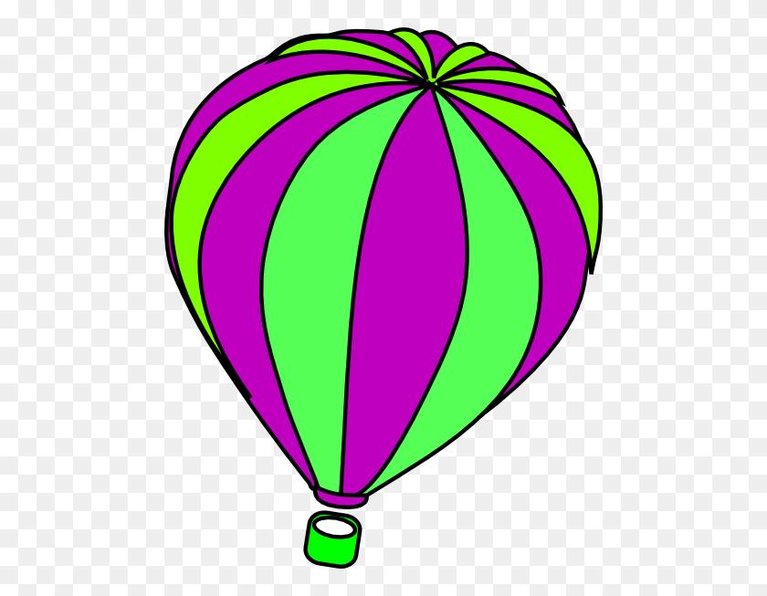 Hot Air Balloon Grey Clip Art - Dr Suess Clip Art