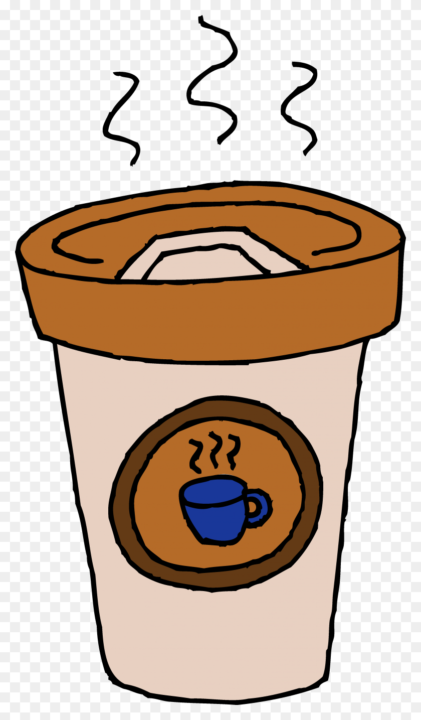 3162x5578 Hot Cafe Latte Clip Art - Man Drinking Coffee Clipart