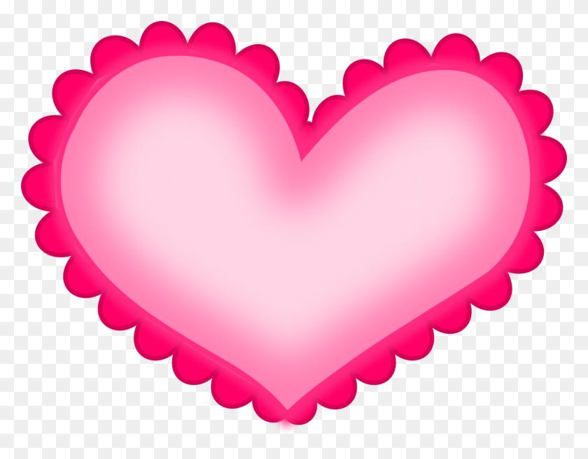 Hot Pink Heart Clipart - Pink Heart Clipart